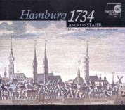 Andreas Staier: Hamburg 1734 - CD