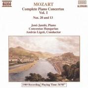 Jeno Jando: Mozart: Piano Concertos Nos. 13 and 20 - CD