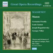 Massenet: Manon (Feraldy / Opera-Comique) (1928-1929) - CD