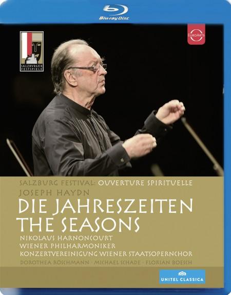Florian Boesch, Dorothea Roschmann, Michael Schade, Wiener Philharmoniker, Nikolaus Harnoncourt: Haydn: Die Jahreszeiten (The Seasons) - BluRay