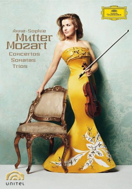 Anne-Sophie Mutter: Mozart: Violin Concertos, Sonatas and Trios - DVD