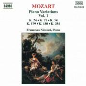Mozart: Piano Variations, Vol.  1 - CD