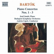 Bartok: Piano Concertos Nos. 1, 2 and 3 - CD