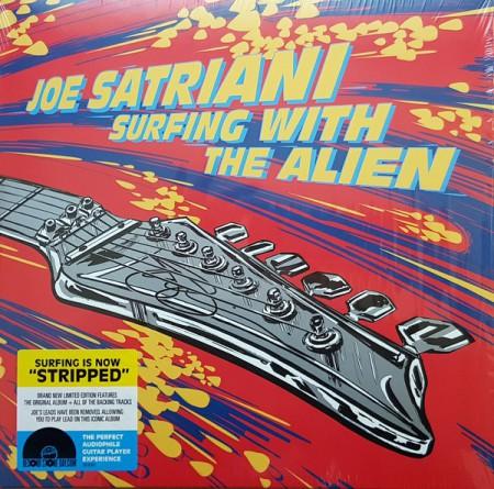 Joe Satriani: Surfing With The Alien (Limited Deluxe Edition - LP 1: Red Vinyl, LP 2: Yellow Vinyl) - Plak