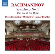 Detroit Symphony Orchestra, Leonard Slatkin: Rachmaninoff: The Isle of the Dead & Symphony No. 1 - CD