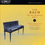 Miklós Spányi: C.P.E. Bach: Solo Keyboard Music, Vol. 3 - CD