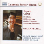 Organ Recital: Ji-Yoen Choi - CD
