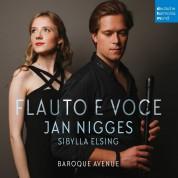 Sibylla Elsing, Jan Nigges: Flauto e Voce - CD