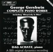 Dag Achatz: Gershwin: Complete Piano Works (including Rhapsody in Blue) - CD