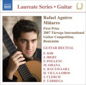 Rafael Aguirre: Guitar Recital: Aguirre, Rafael - Sor, F. / Ibert, F. / Poulenc, F. / Ohana, M. / Rautavaara, E. / Villa-Lobos, H. / Clerch, J. / Tarrega, F. - CD