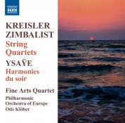 Fine Arts Quartet: Kreisler - Zimbalist: String Quartets - CD