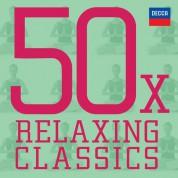 Çeşitli Sanatçılar: 50x Relaxing Classics - CD