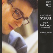 Andreas Scholl: English Folksongs & Lute Songs - CD
