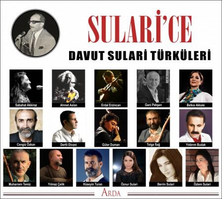 Çeşitli Sanatçılar: Sülari'ce (Davut Sülari Türküleri) - CD