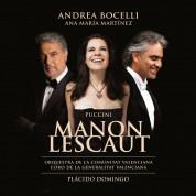 Andrea Bocelli, Ana María Martínez, Orquestra De La Comunitat Valenciana, Plácido Domingo: Puccini: Manon Lescaut - CD