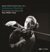 Johanna Martzy: Mozart: Violin Concertos No: 3 & 4 - Plak
