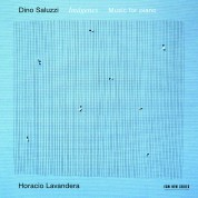 Horacio Lavandera: Dino Saluzzi: Imágenes - Music for piano - CD