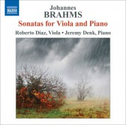 Roberto Diaz: Brahms: Sonatas for Viola and Piano - CD