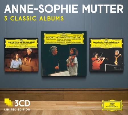 Anne-Sophie Mutter, Berliner Philharmoniker, Herbert von Karajan: Anne-Sophie Mutter - 3 Classic Albums - CD