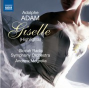 Andrew Mogrelia, Slovak Radio Symphony Orchestra: Adam: Giselle (Highlights) - CD