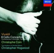 Christophe Coin, Christopher Hogwood, The Academy of Ancient Music: Vivaldi: Six Cello Concertos - CD
