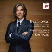 Kent Nagano, Orchestre Symphonique de Montreal: Beethoven: Symphonies No. 1&7 - CD