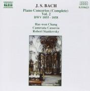 Chang, Camerata Cassovia, Stan: J.S. Bach: Piano Con. BWV 1055-1058 - CD