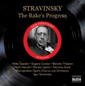 Igor Stravinsky: Stravinsky: Rake's Progress (The) (Metropolitan Opera, Stravinsky) (1953) - CD
