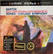 Fritz Reiner, Chicago Symphony Orchestra: Bartok: Music For Strings, Percussion And Celesta / Hungarian Sketches - Plak