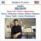 Cypress String Quartet: Higdon: Piano Trio / Voices / Impressions - CD