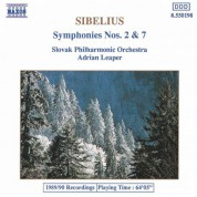 Sibelius: Symphonies Nos. 2 and 7 - CD