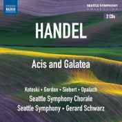Gerard Schwarz: Handel: Acis and Galatea - CD