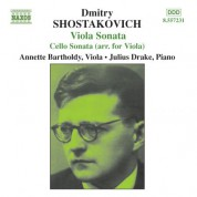Shostakovich: Cello Sonata (Arr. for Viola) / Viola Sonata - CD