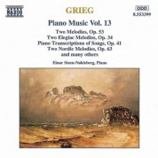 Grieg: Piano Transcriptions of Songs, Op. 41 / Nordic Melodies, Op. 63 - CD