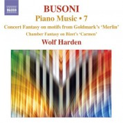 Wolf Harden: Busoni: Piano Music, Vol.  7 - CD