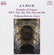 Wolfgang Rübsam: J.S. Bach: Preludes and Fugues BWV 536, 541, 542, 544, - CD