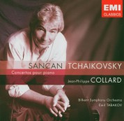 Jean-Philippe Collard, Bilkent Symphony Orchestra, Emil Tabakov: Sancan: Concerto Pour Piano / Tchaikovsky: Concerto Pour Piano No.1 - CD