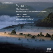 Tapiola Sinfonietta, Jean-Jacques Kantorow, Jaakko Luoma: Weber: Symphonies - SACD