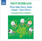 Gomalan Brass Quintet: Moviebrass - CD