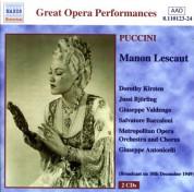Puccini: Manon Lescaut (Kirsten, Björling) (1949) - CD