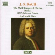 Bach, J.S.: Well-Tempered Clavier (The), Book 1 - CD
