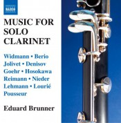 Eduard Brunner: Music for Solo Clarinet - CD