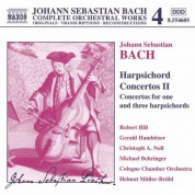 Bach, J.S.: Harpsichord Concertos, Vol.  2 - CD