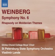 Vladimir Lande: Weinberg: Symphony No. 6 - Rhapsody on Moldavian Themes - CD
