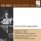 İdil Biret Archive Edition, Vol. 16: Johannes Brahms - CD