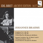İdil Biret Archive Edition, Vol. 16: Johannes Brahms - CD