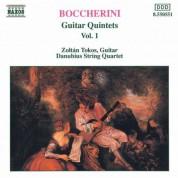 Zoltan Tokos: Boccherini: Guitar Quintets, Vol.  1 - CD