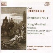 Reinecke: Symphony No. 1 / King Manfred - CD