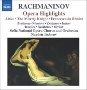 Rachmaninov: Aleko / The Miserly Knight / Francesca Da Rimini (Excerpts) - CD