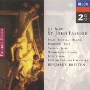Benjamin Britten, English Chamber Orchestra, Sir Peter Pears, Wandsworth School Boys' Choir: Bach, J.S.: St. John Passion - CD